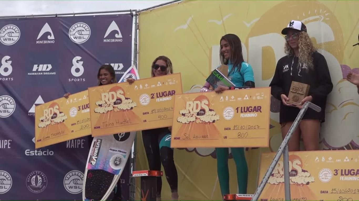 Sol Aguirre conquista Pro Junior en Brasil y es la nueva reina sudamericana WSL