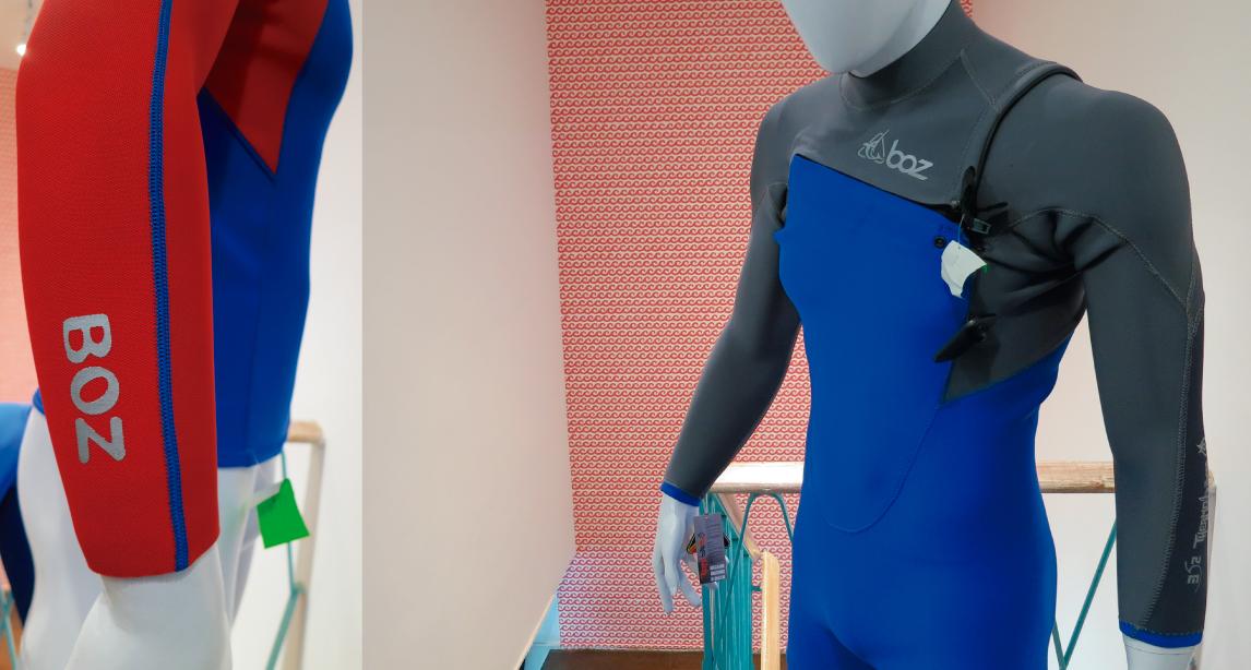 INDUSTRIA: Wetsuits Boz y su nuevo traje exclusivo para el bodyboard
