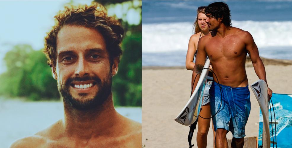 Surf de luto por muerte de pro surfers Jean da Silva y Oscar Moncada