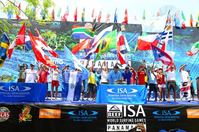 Japón y Brasil nuevas sedes para dos eventos ISA 2018