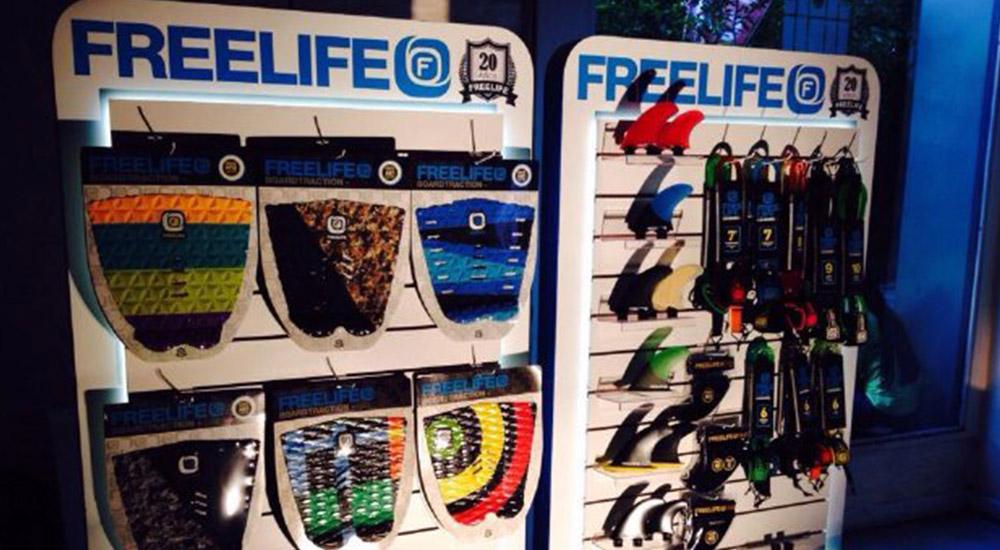"""INDUSTRIA: """"Freelife"""", toda una gama de accesorios para tu surfing"""