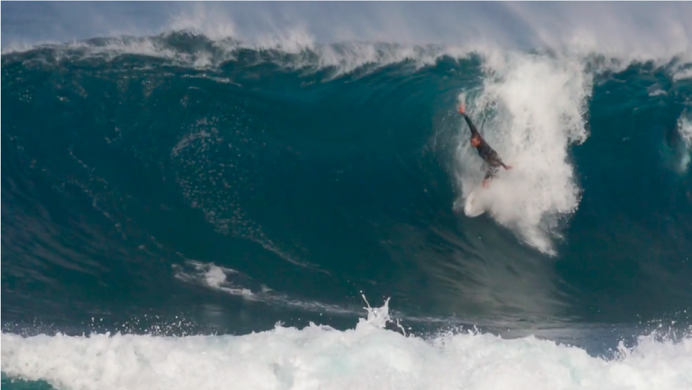 Dusty Payne sufre terrible lesión en Backdoor (Hawaii)