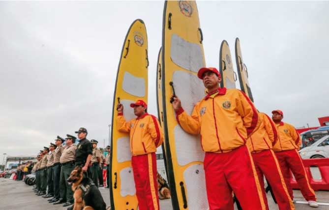 Según Unidad de Salvataje, 6 playas de Lima son peligrosas