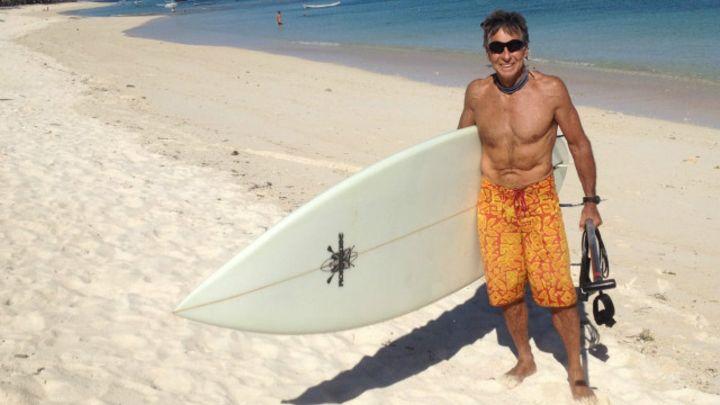 Felipe Pomar ofrecerá charla en Indonesia sobre salud y cómo agregar años a una vida de surf