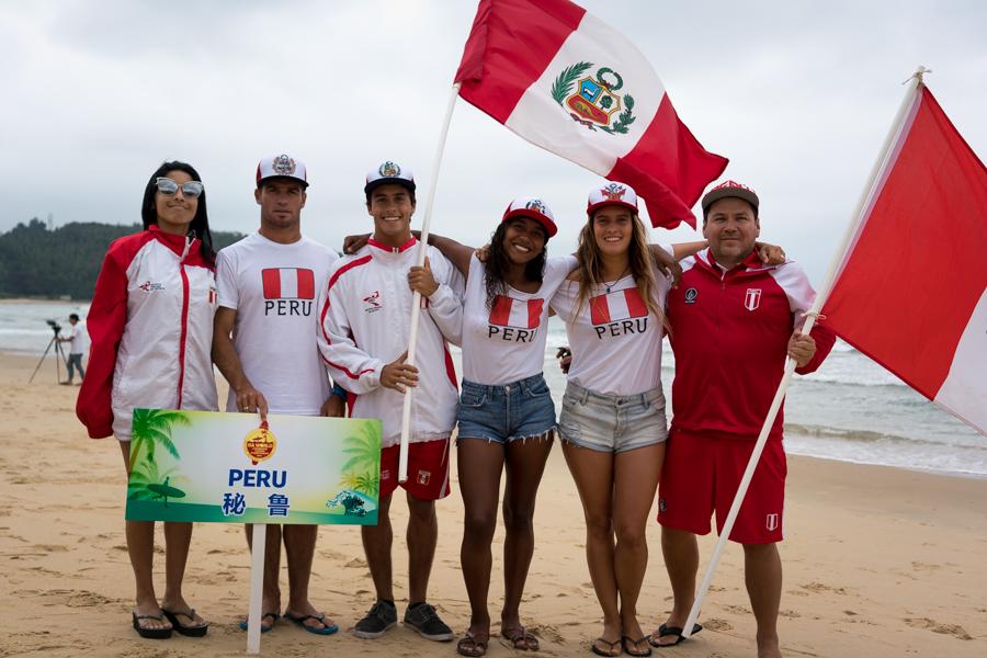 Peruanos iniciaron su participación en el Mundial de Longboard en China