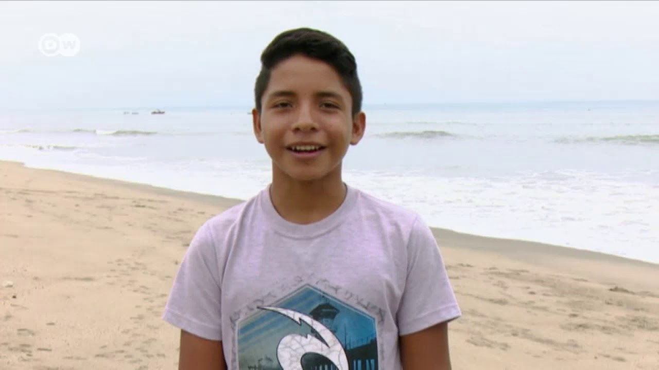 [CINEMA] Conoce a Arnold Purizaca, el niño surfer de Lobitos con un gran sueño por delante