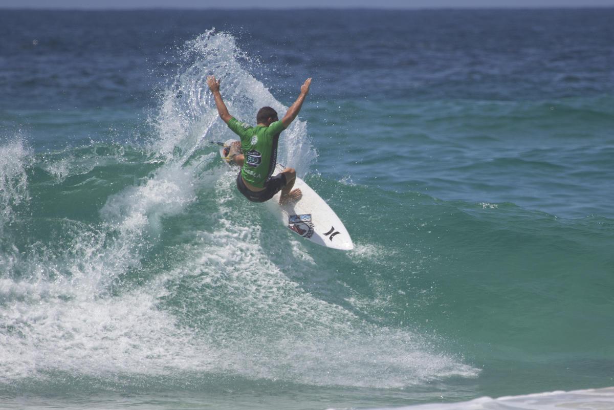 Alonso Correa 5to puesto en WQS de Australia