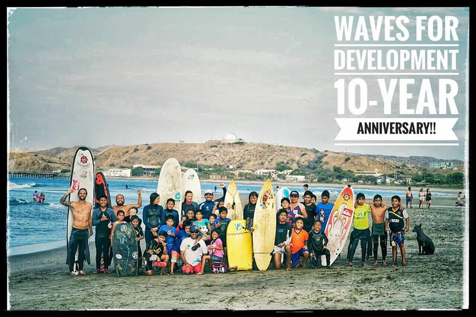 """""""Wave for Development"""" y sus 10 años al servicio de Lobitos"""