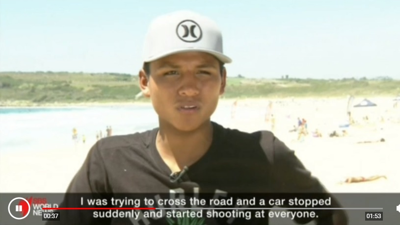 De la calle al surf: el adolescente  peruano Jhonny Guerrero que aspira a una carrera en el surfing profesional