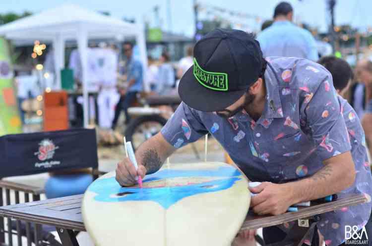 Festival de surf, arte y música llega a Lima
