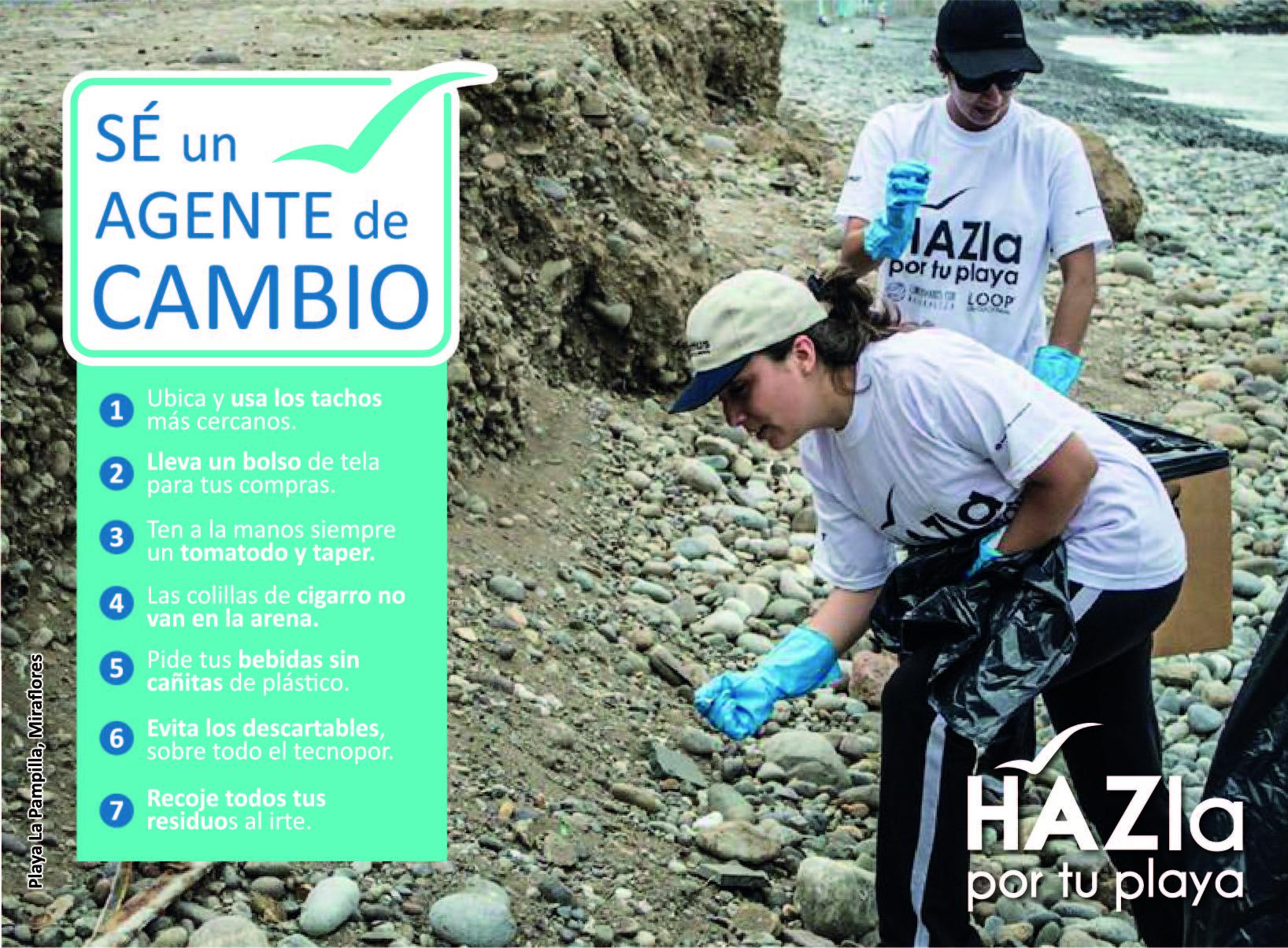 Del Perú para el mundo: HAZla por tu playa, el movimiento voluntario que deja a las playas y ríos sin plástico