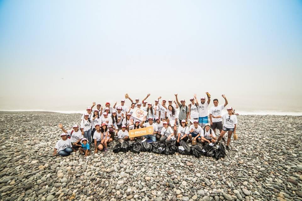 [HAZla por tu playa] Más de 40 toneladas de basura fueron recogidos por ciento de voluntarios