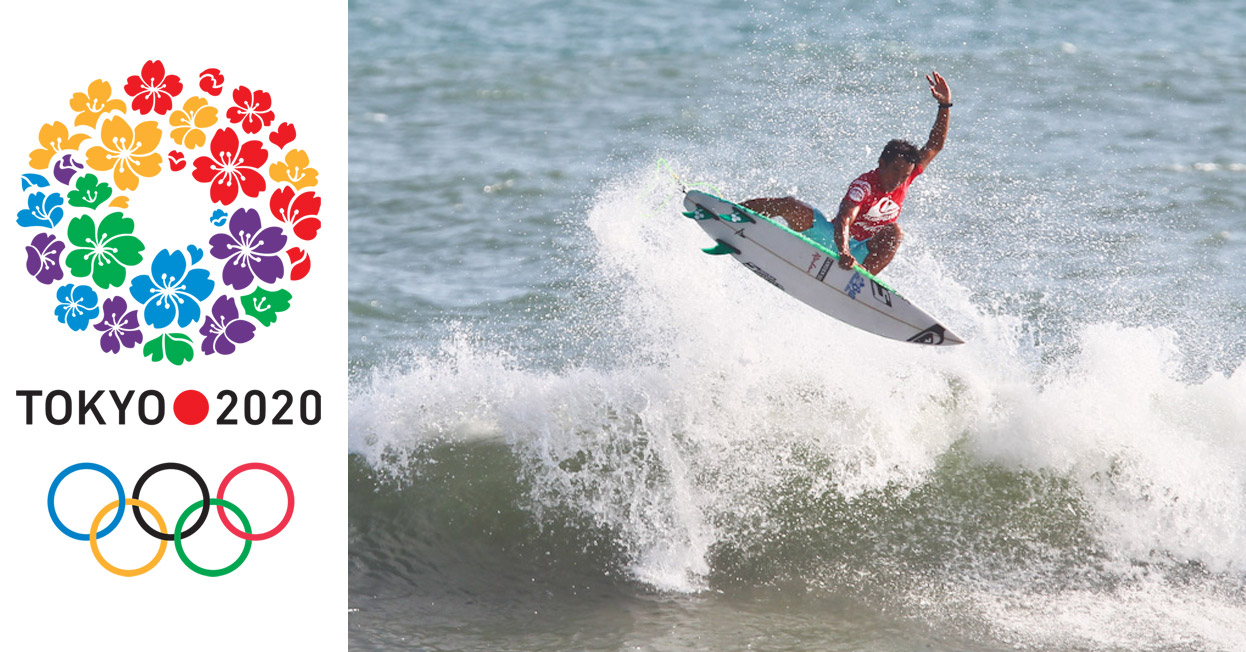 EL Comité Olímpico Internacional y la ISA confirman el proceso de clasificación para la competencia de surfing  de Tokio 2020
