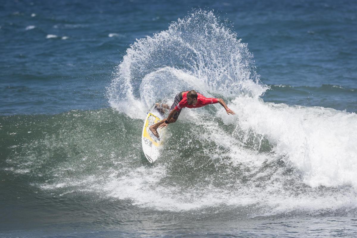 Tudela y Giunta únicos sobrevivienntes en el Martinique Surf Pro