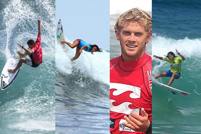 Peruanos ya conocen a sus rivales para el Rip Curl Pro Argentina y Barbados Surf Pro