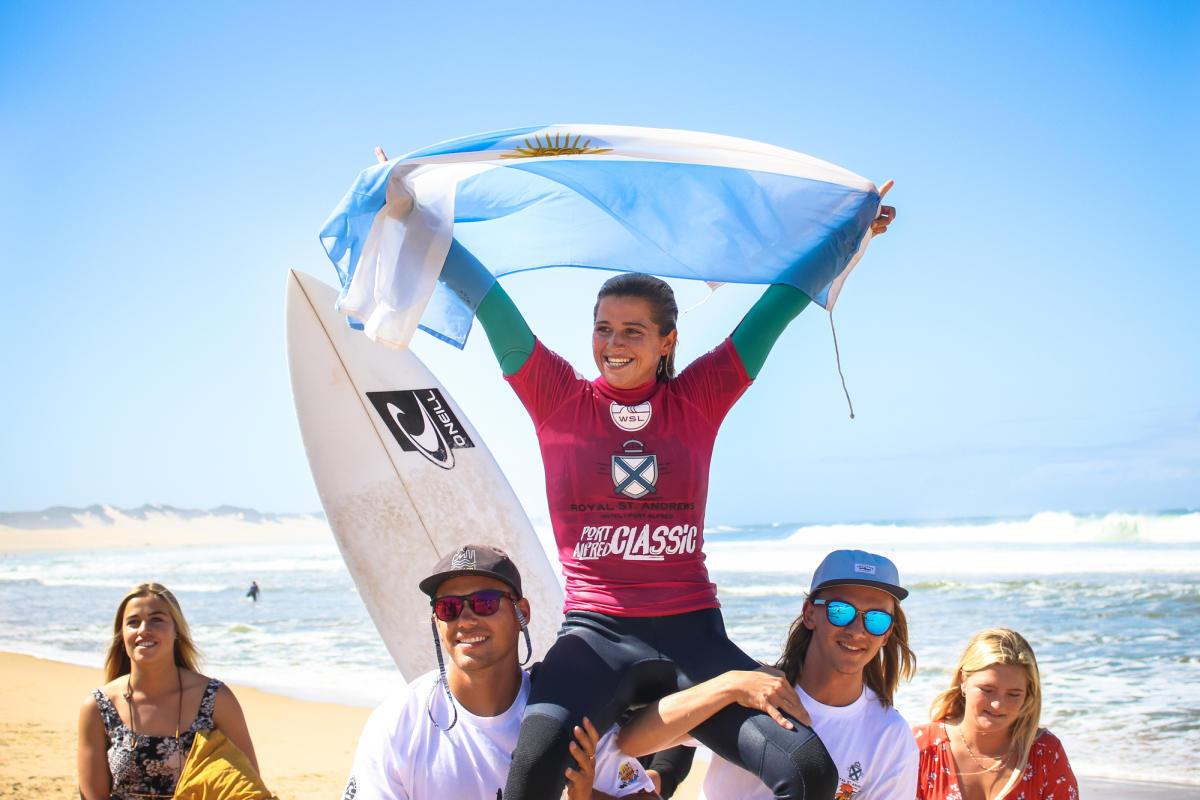 Josefina Ané campeona en Sudáfrica