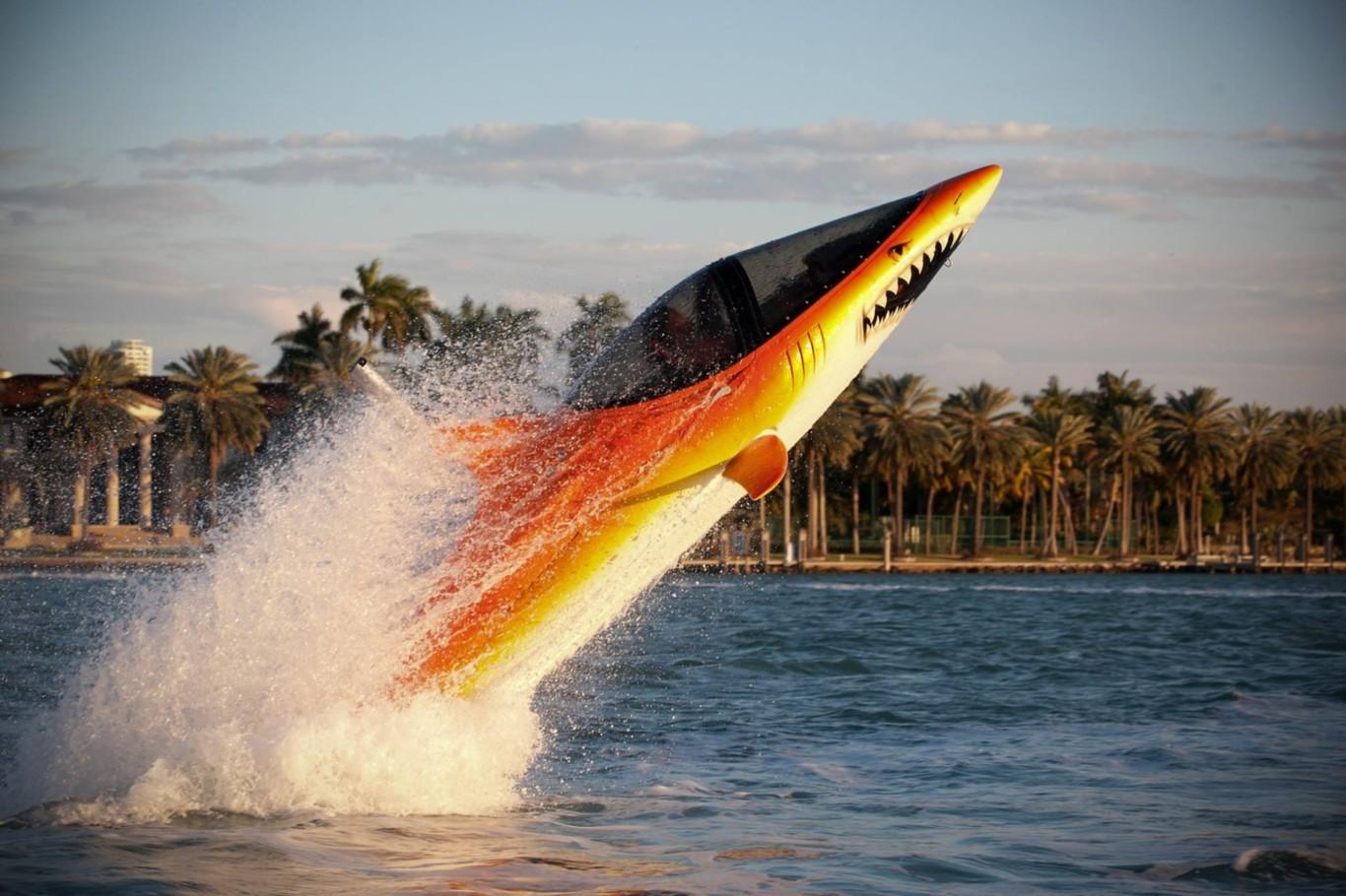 La espectacular moto acuática con aspecto de pez