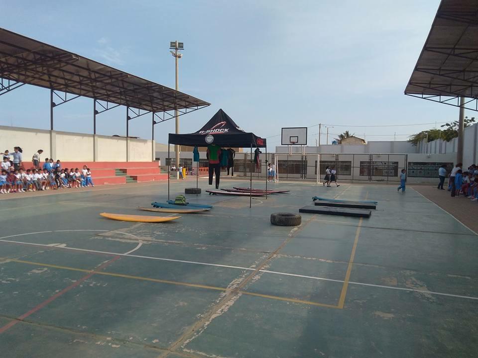 Se inaugura academia de tabla unidos por el deporte en Negritos (Piura)