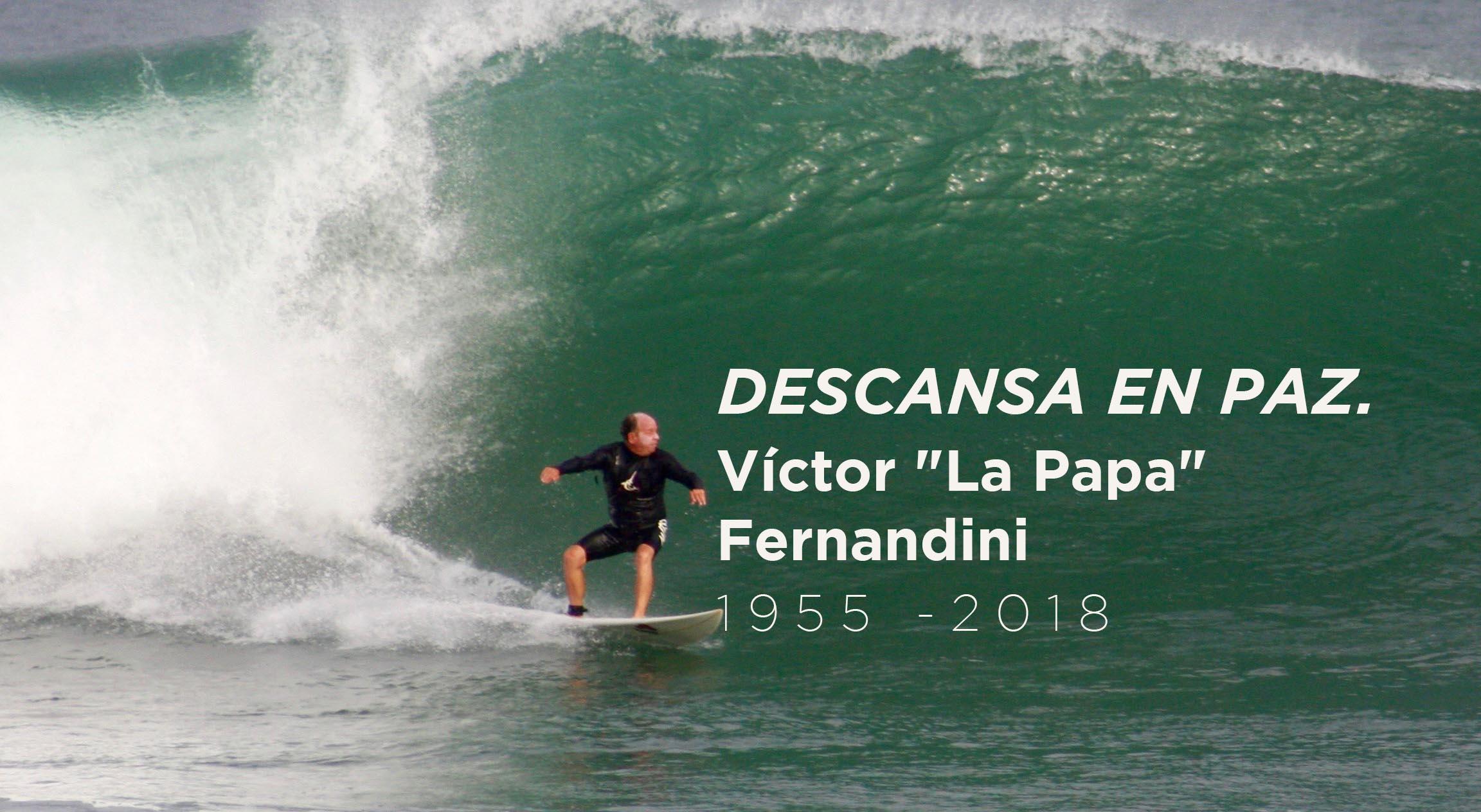 """Aloha Victor """"La Papa"""" Fernandini"""