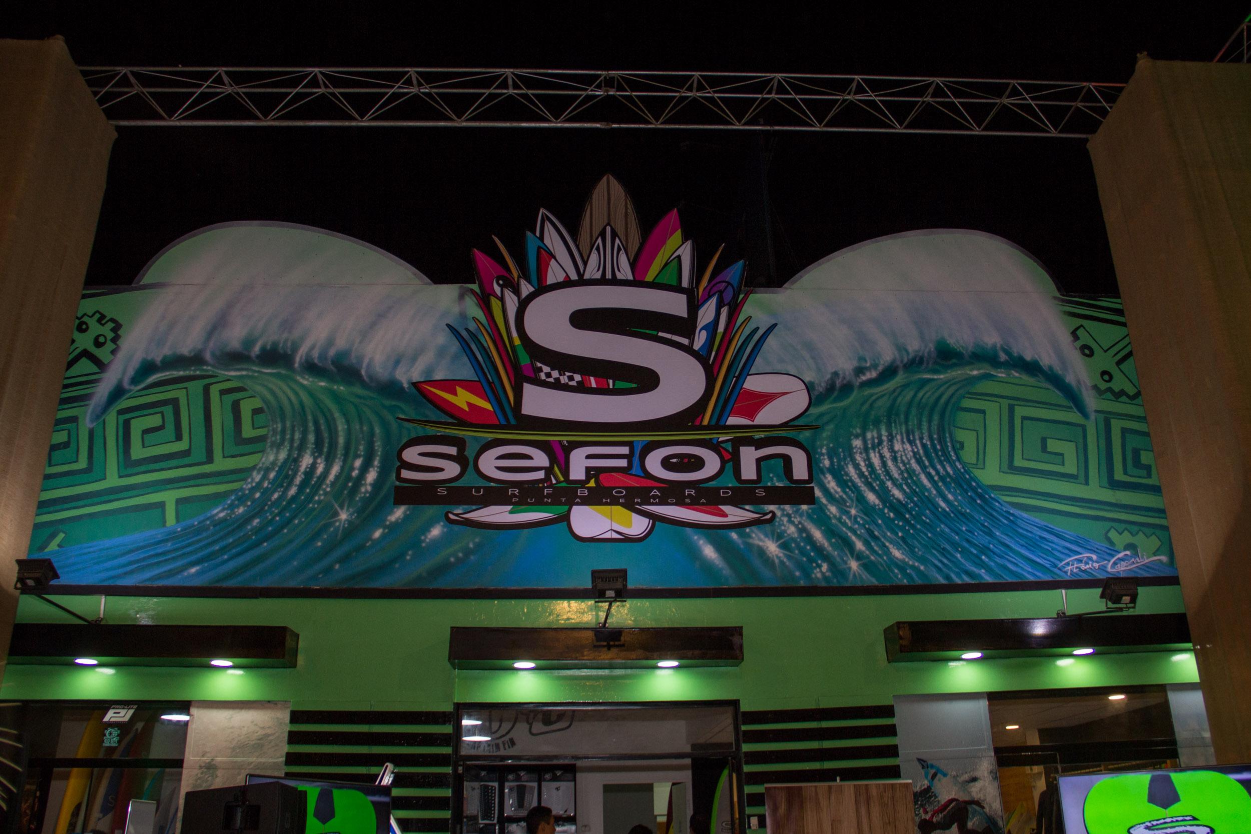 Así fue el lanzamiento oficial de SEFON Surfboards