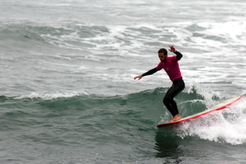 Así se desarrolló la primera fecha del circuito peruano de longboard y SUP en San Bartolo