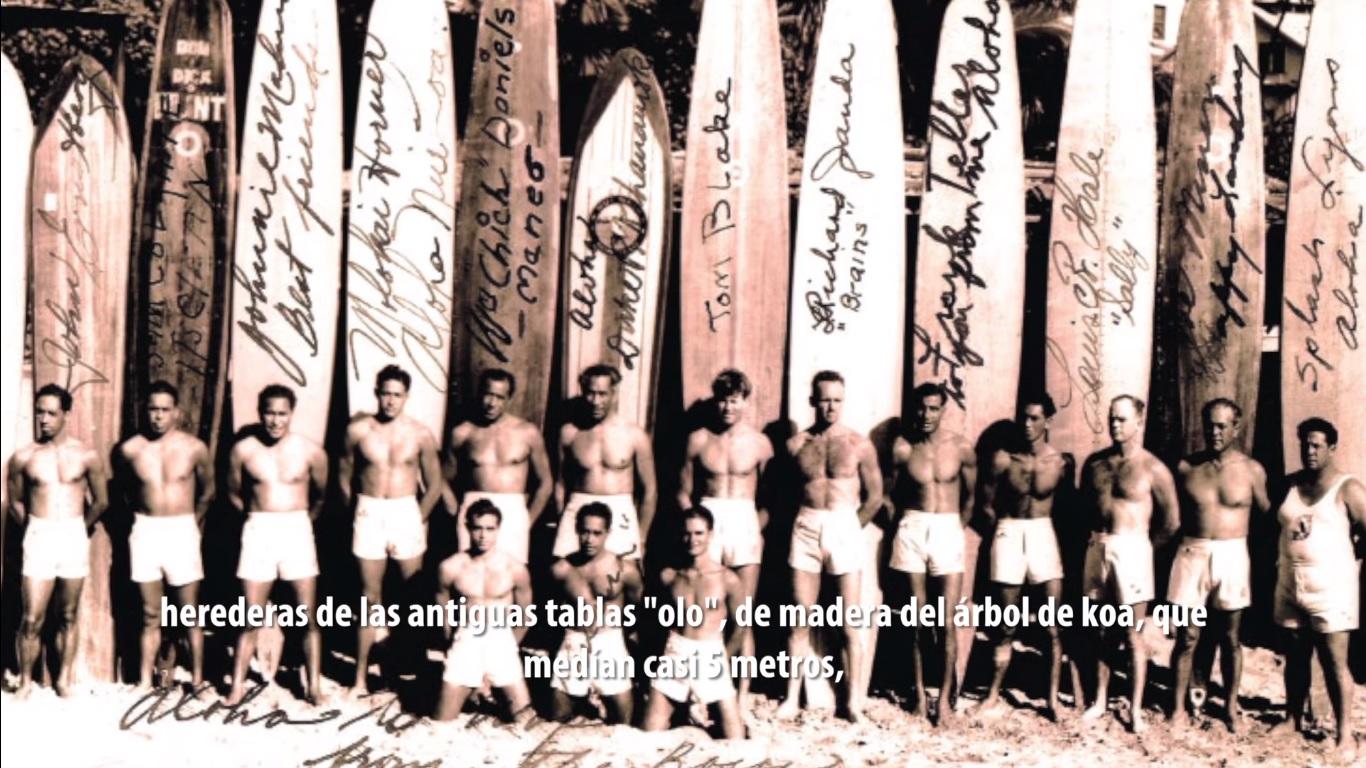 Misterios de la Historia: El Surf