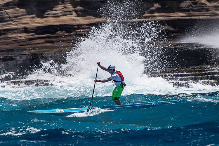 Campeonato mundial de SUP en Hawaii tendrá categoría hydrofoil