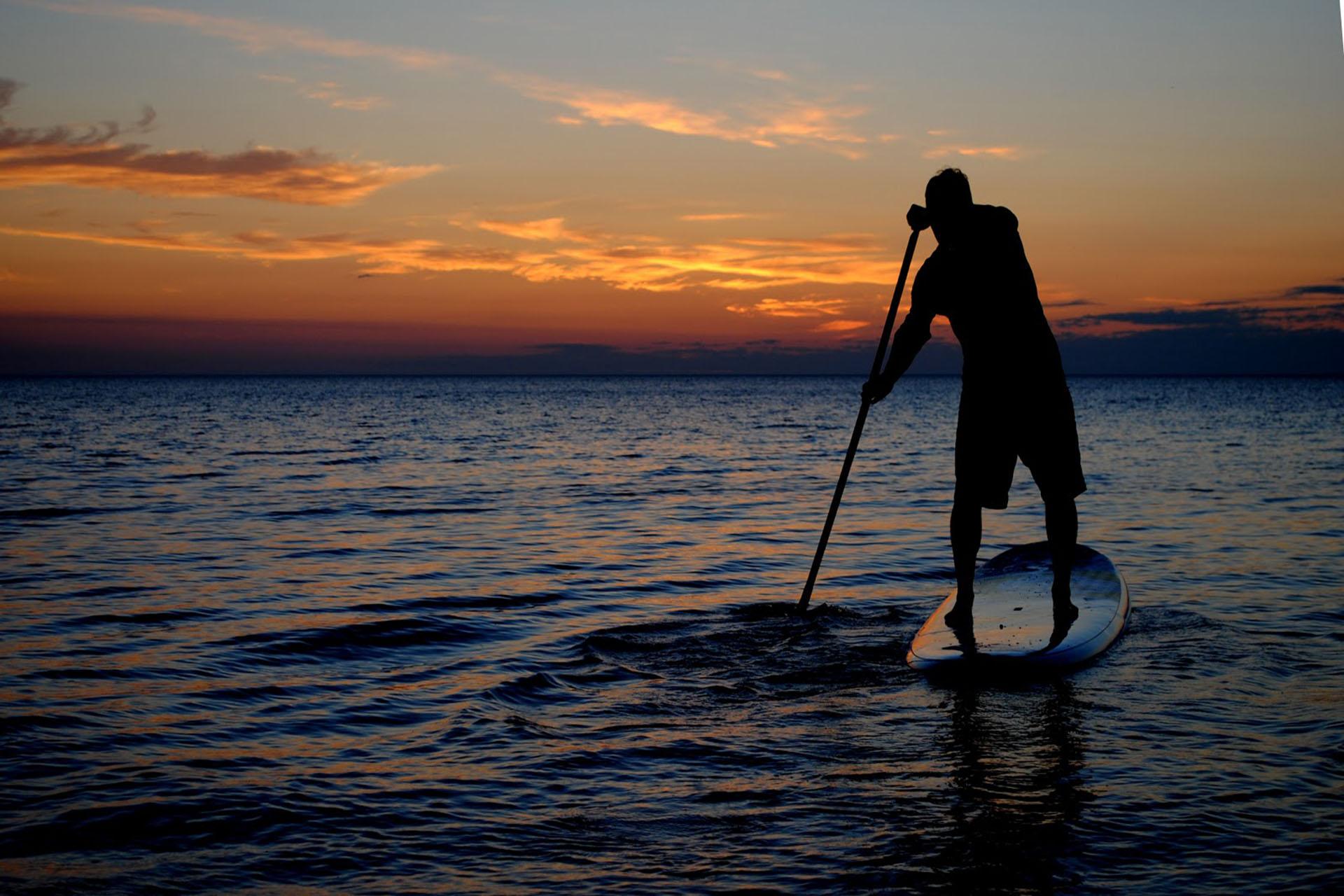 ¿Por qué empezar hacer paddle surf es una buena idea?