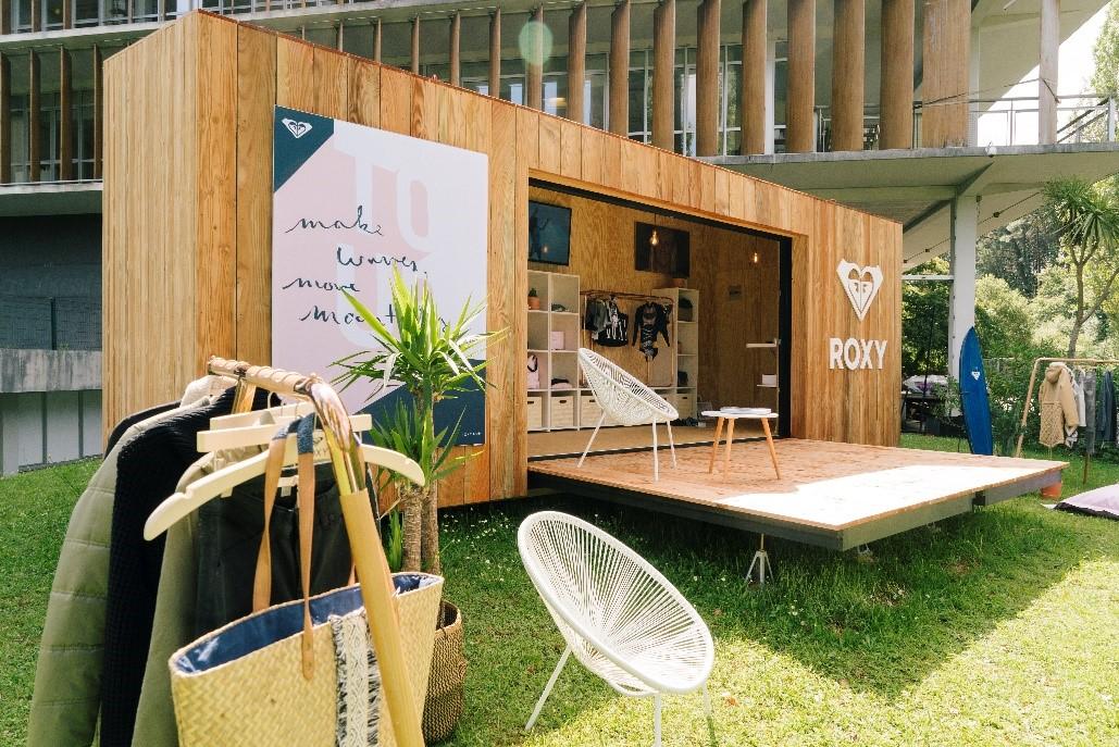 Roxy presenta una nueva tienda pop-up sostenible