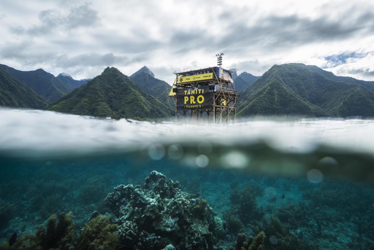 Ingeniería en Teahupoo: El estrado de jueces del Tahiti Pro