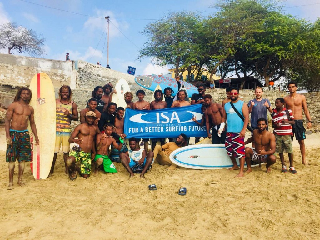 La ISA continúa la promoción del crecimiento global del surfing con el apoyo de la solidaridad olímpica