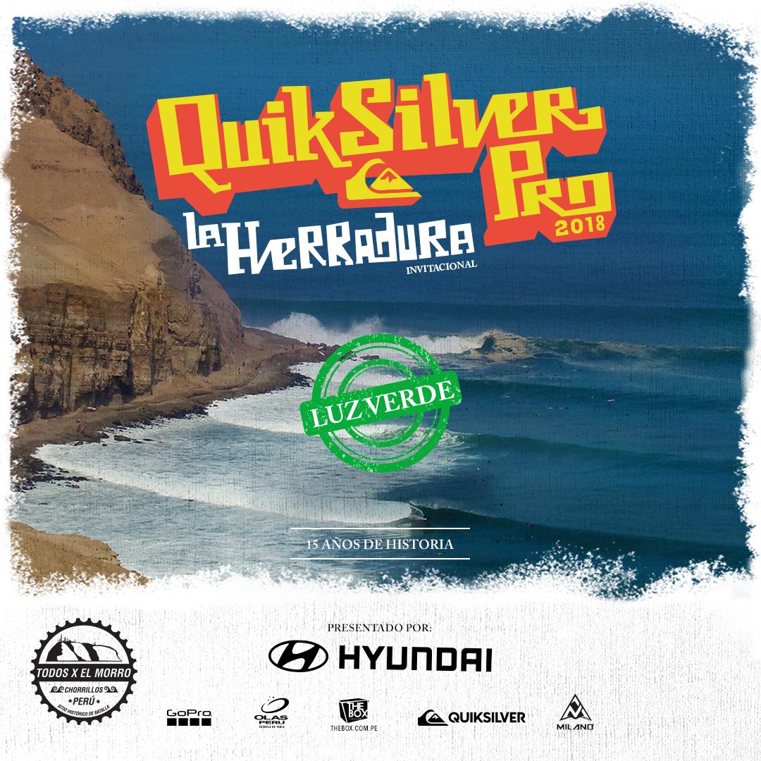 Confirmado: El Quiksilver Pro La Herradura será este 14 de Septiembre