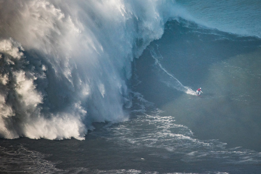 Maya Gabeira ingresa al libro Guinness por su ola de 20 metros en Nazaré