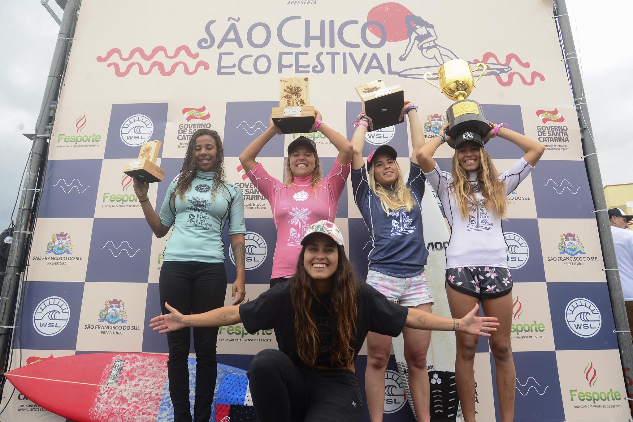 Surfistas peruanas hacen historia en Brasil