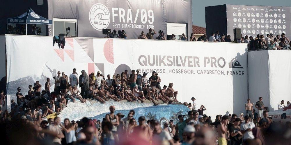 Quiksilver y Roxy Pro France renuevan hasta el 2021