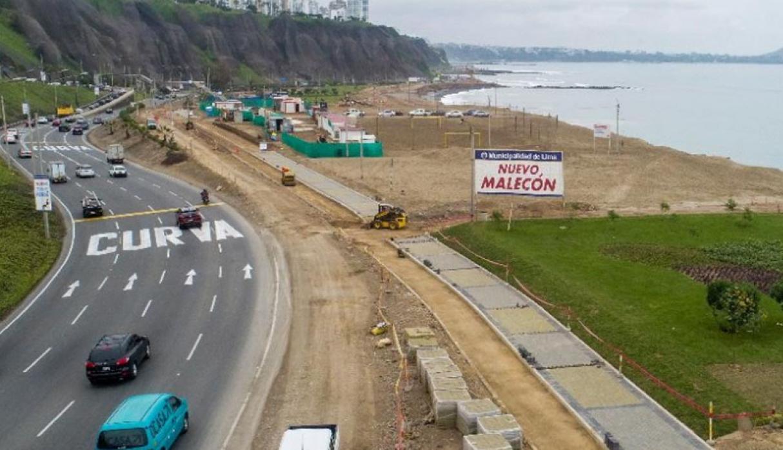Costa Verde: Trazo del nuevo malecón afectaría a 10 playas