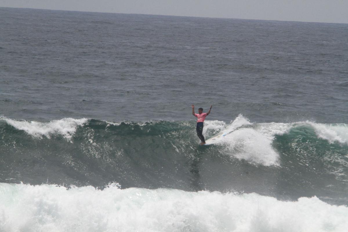 Sábado de finales en los Panamericanos de Surf  2018