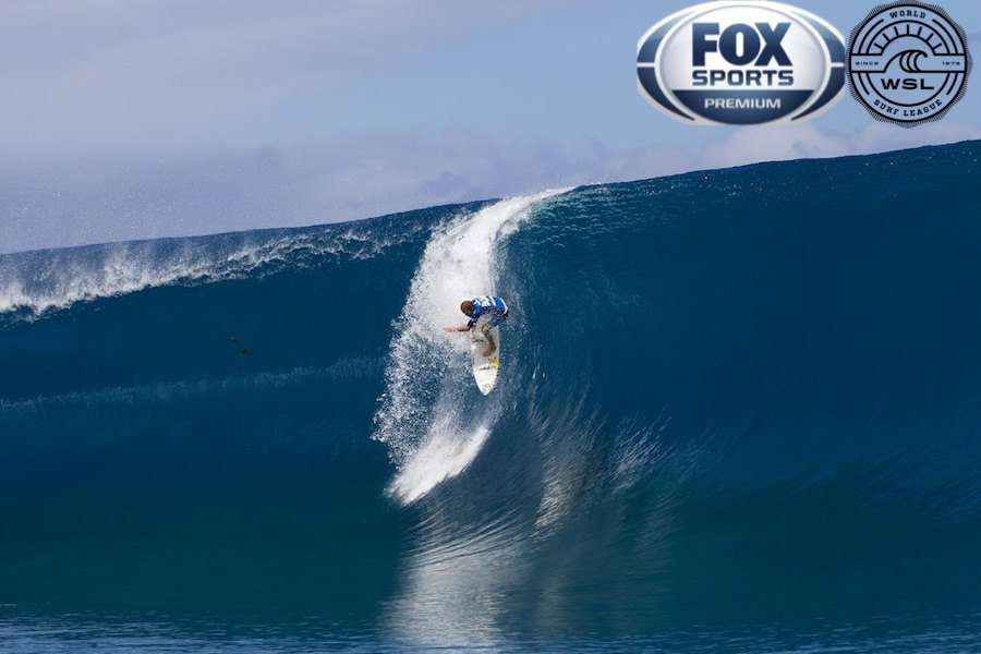 World Surf League y Fox Sports firman histórico acuerdo para transmisiones en vivo