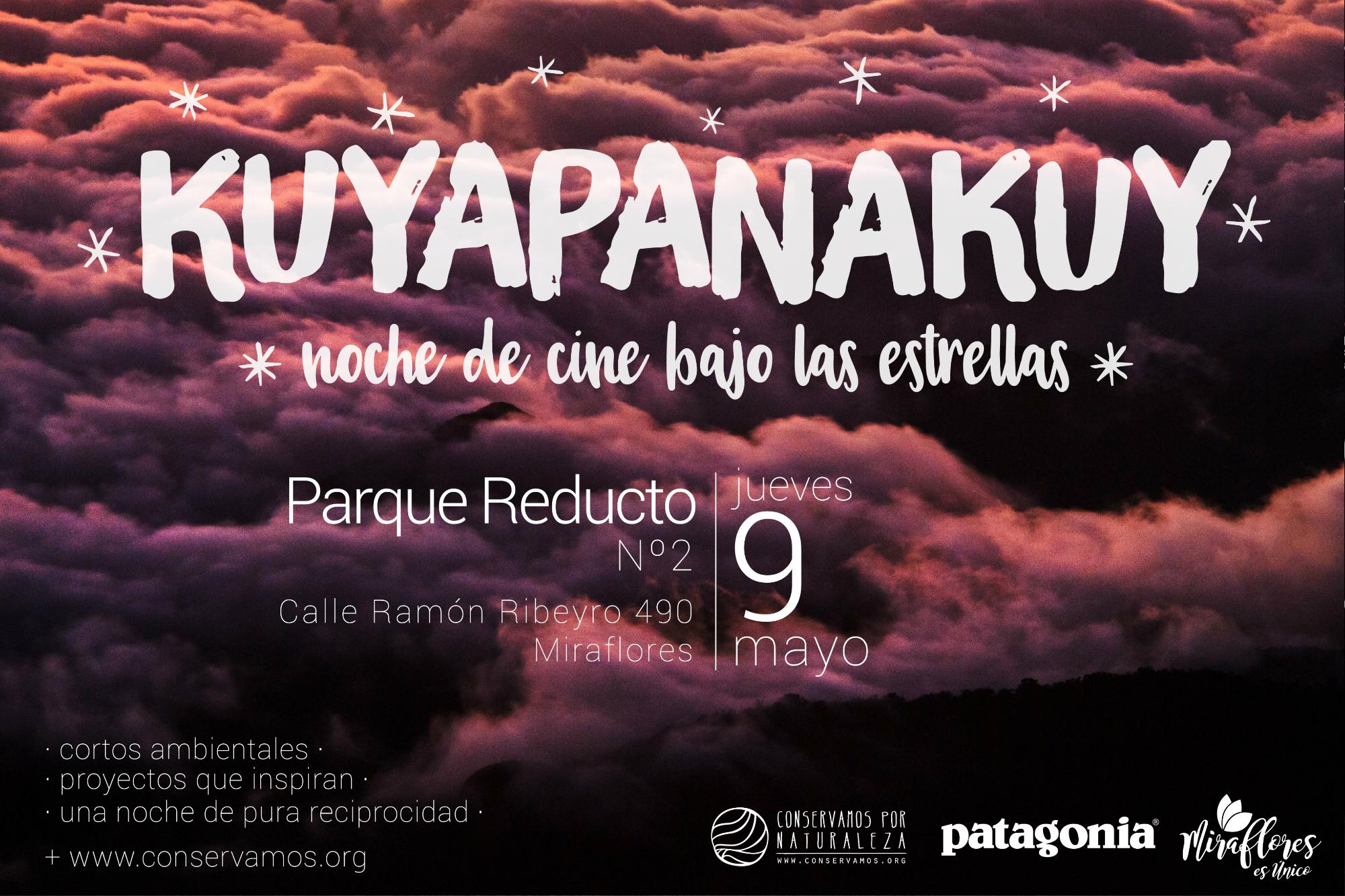 """Noche de cine ambiental en """"Kuyapanakuy bajo las estrellas"""" en el Parque Reducto de Miraflores"""