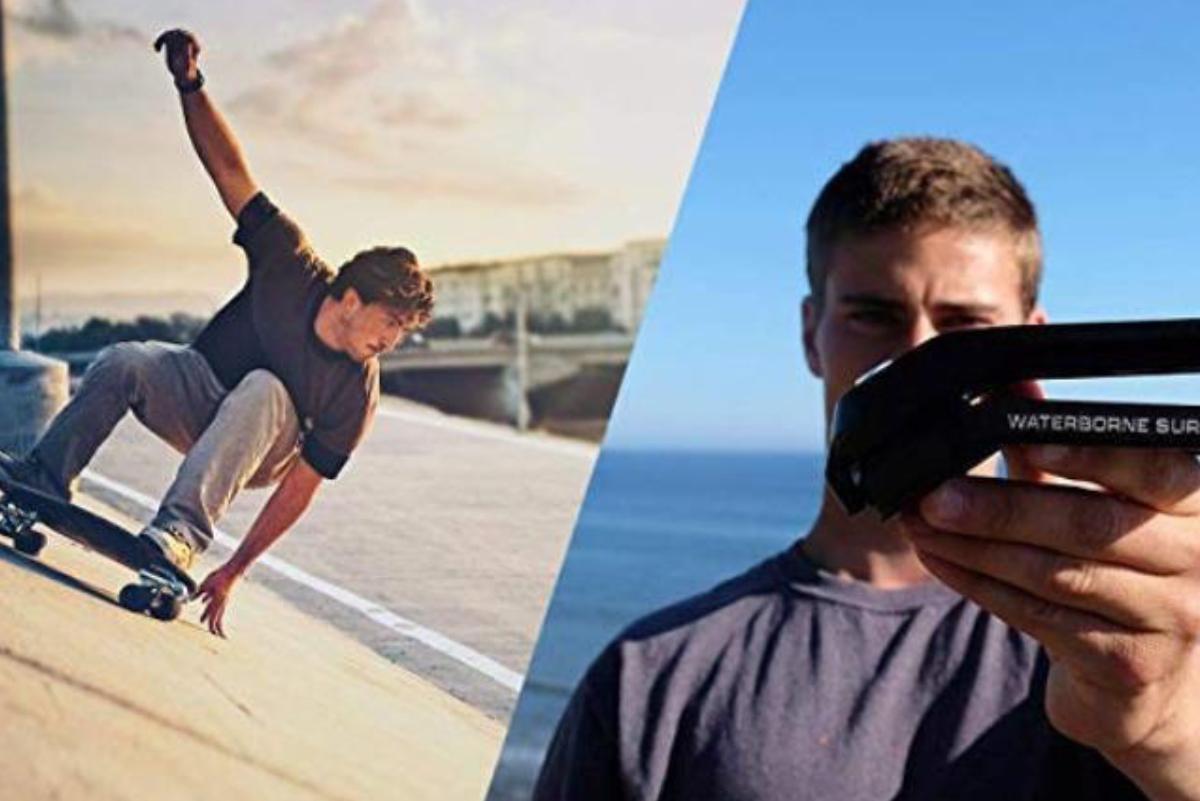 Transforma tu skate en una máquina para surfear