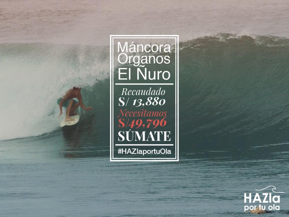 Máncora, Órganos y El Ñuro, los siguientes en lista para la protección de sus olas