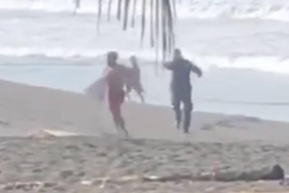 Coronavirus: Policía de Costa Rica dispara contra surfista que no respetó cuarentena
