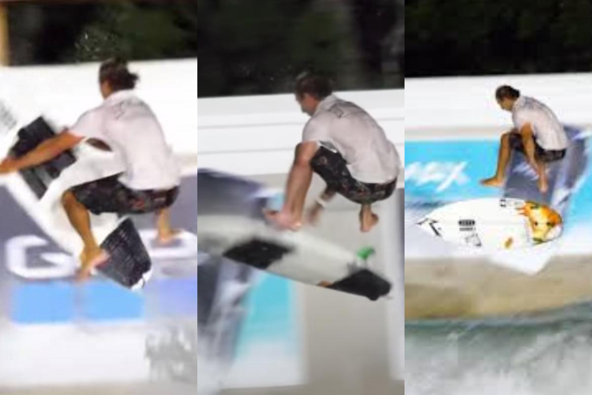 """""""Superman Fingerflip"""", la maniobra del skate que se hizo por primera vez en el surfing"""