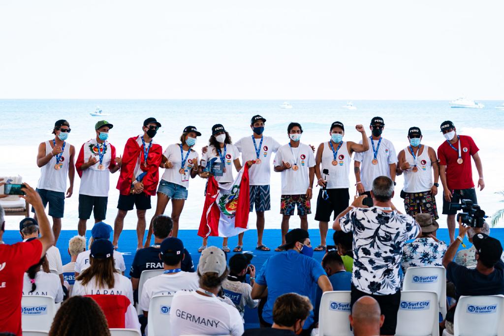 Surfing peruano rumbo a Tokio: Las mejores imágenes de la histórica participación en El Salvador