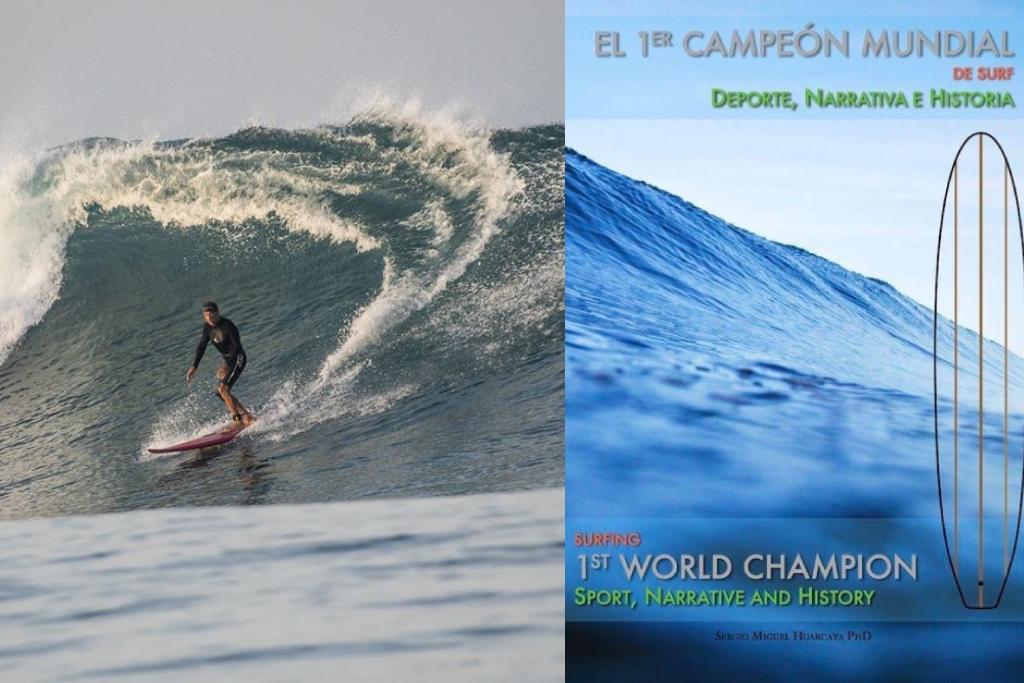 """Libro """"El Primer Campeón Mundial de Surf"""" disponible aquí"""