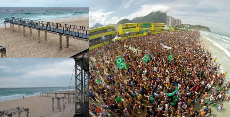 La polémica pasarela del Oi Rio Pro 2016