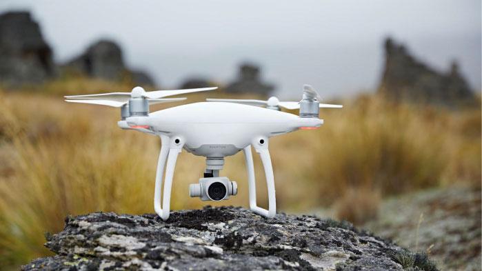 ¿El mejor de todos?: Phantom 4, el drone del futuro