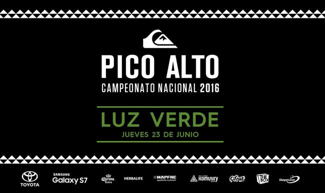 [ÚLTIMO MINUTO] Luz verde para el Quiksilver Pico Alto 2016