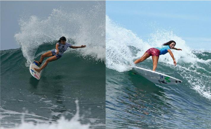 Sofia Mulanovich y Analí Gómez siguen avanzando en El Salvador y compartirán serie en la ronda 4