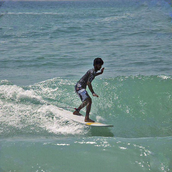 Irán es el nuevo miembro número cien de la International Surfing Association
